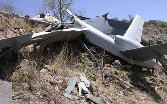 Artsakh forces downed an Israeli made drone during the April 2016 War