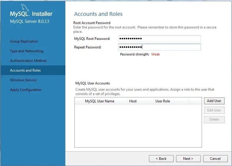mysql installer