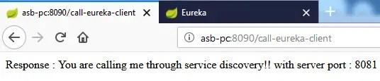 Eureka load balanced resttemplate example