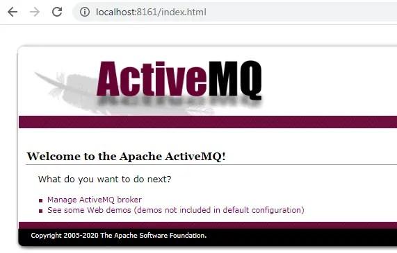 ActiveMQ on windows