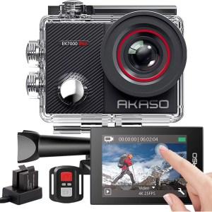 AKASO EK7000 Pro 4K akciókamera távirányítóval