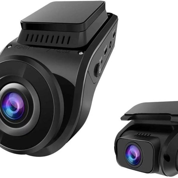VANTRUE S1 Dual autós kamera, GPS