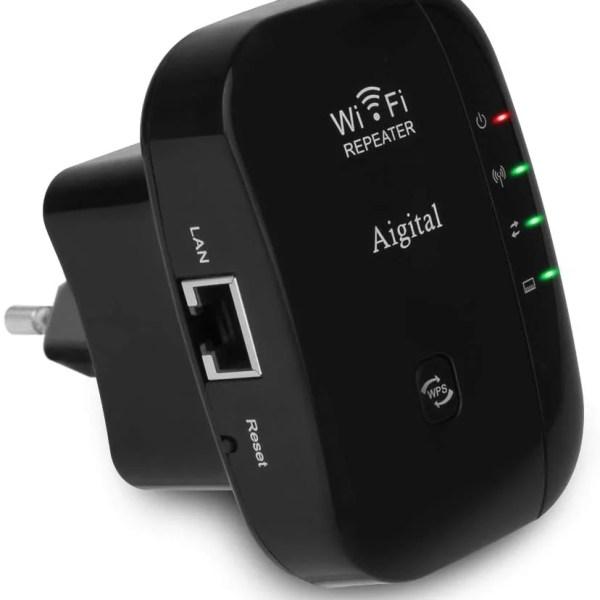 Aigital N300 WiFi jelerősítő, 300Mbit