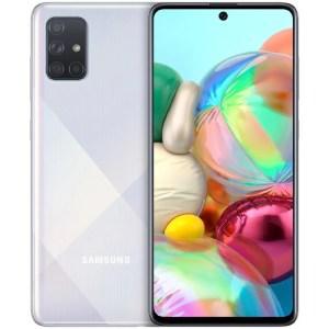 Samsung Galaxy A71 A715 Dual Sim 6GB+128GB-fénytöréses ezüst