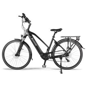 Accolmile női elektromos trekking kerékpár-fekete