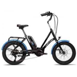 Corratec Life S AP5 RD 8 sebességes elektromos kerékpár-fekete-kék