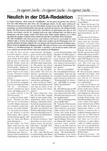 Kiesow-Artikel aus Aventurischer Bote 62 Cover