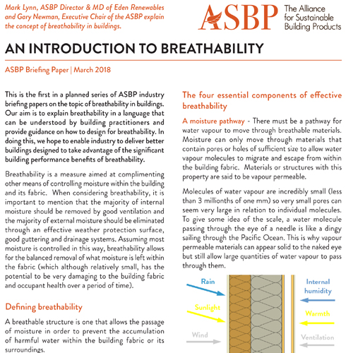 An Introduction to Breathability