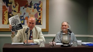 Ethics panel with Roy Harris and Robin Sherman