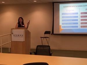 Jessica Levenson at the ASBPE Boston Bootcamp
