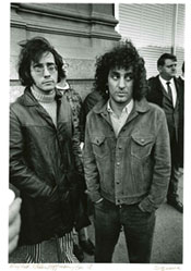 Photo of Abe Peck and Abbie Hoffman