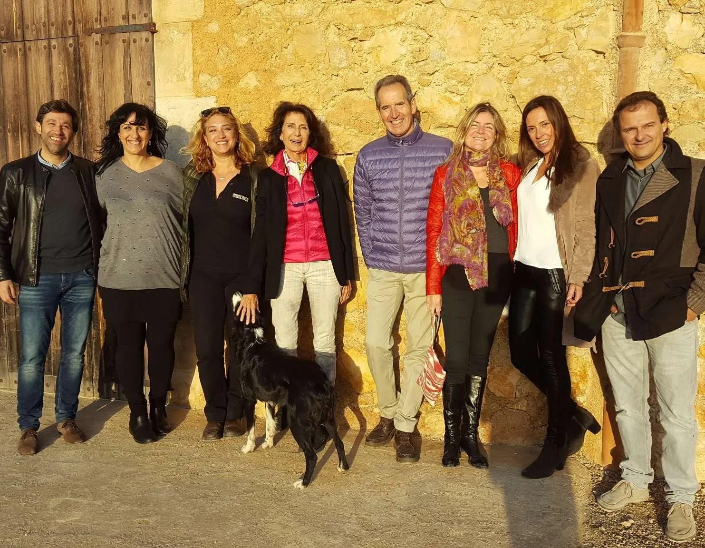 Fiesta de la recolección de la aceituna con María Salinas