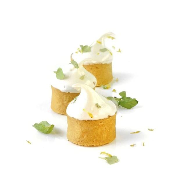 Tartaleta de Limón y Albahaca
