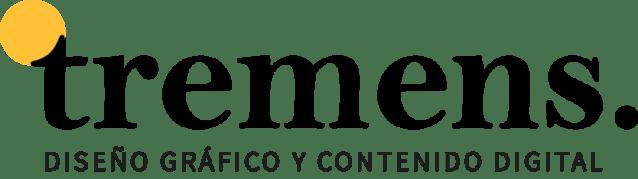 tremens. logo. Diseño gráfico y creación digital
