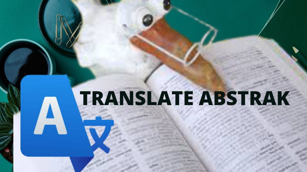 translate abstrak skripsi