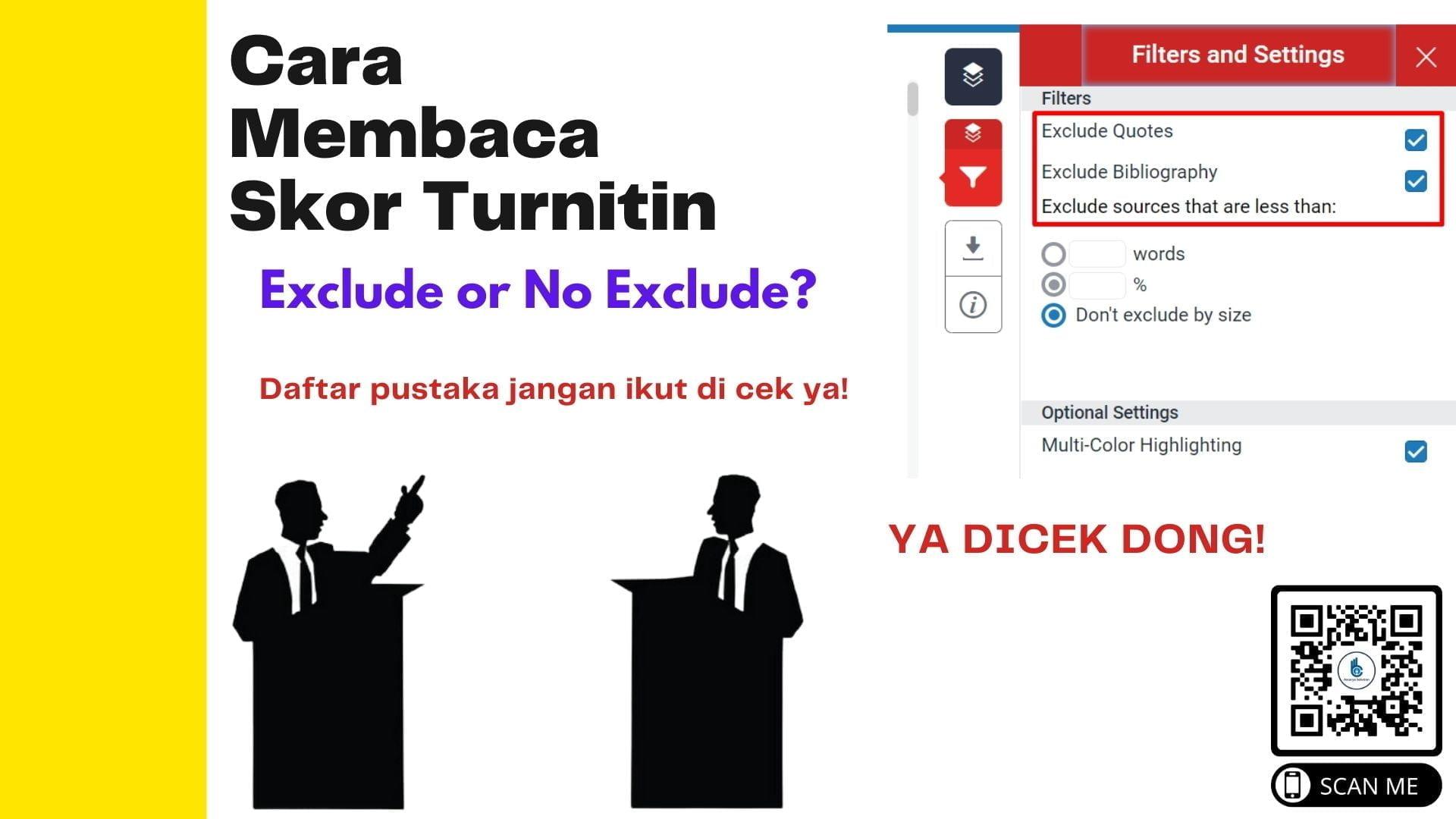 Plagiarisme Turnitin