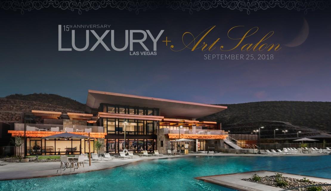 Luxury Las Vegas 15th Anniversary | Arts Salon Vignettes