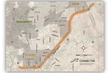 Capital Southeast Connector Overview Map