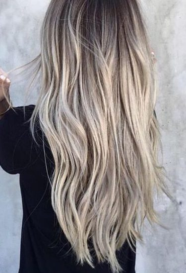 Blond Haar Met Blonde Highlights