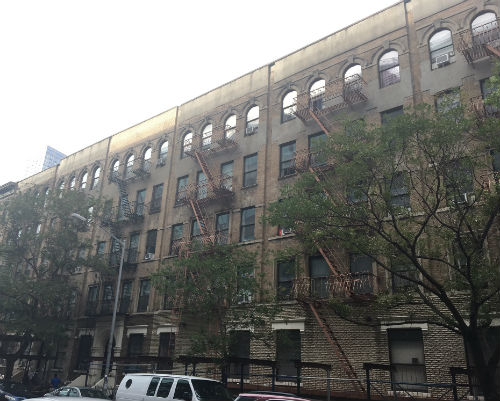 Photograph of 111-117 East 100th Street building.