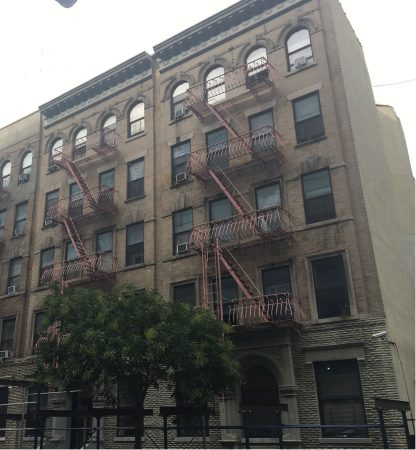 Photograph of 119-121 East 100th Street building.