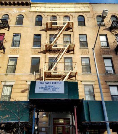 Photograph of 1265 Park Avenue building.