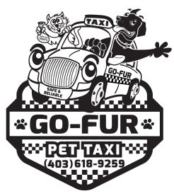 Go-Fur Pet Taxi Logo