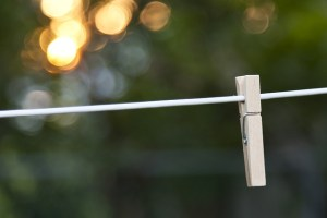 Pinch of a clothes pin on a line is much like a pinched nerve