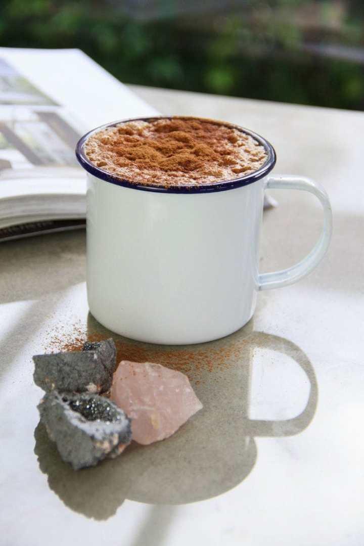 Dandelion Latte