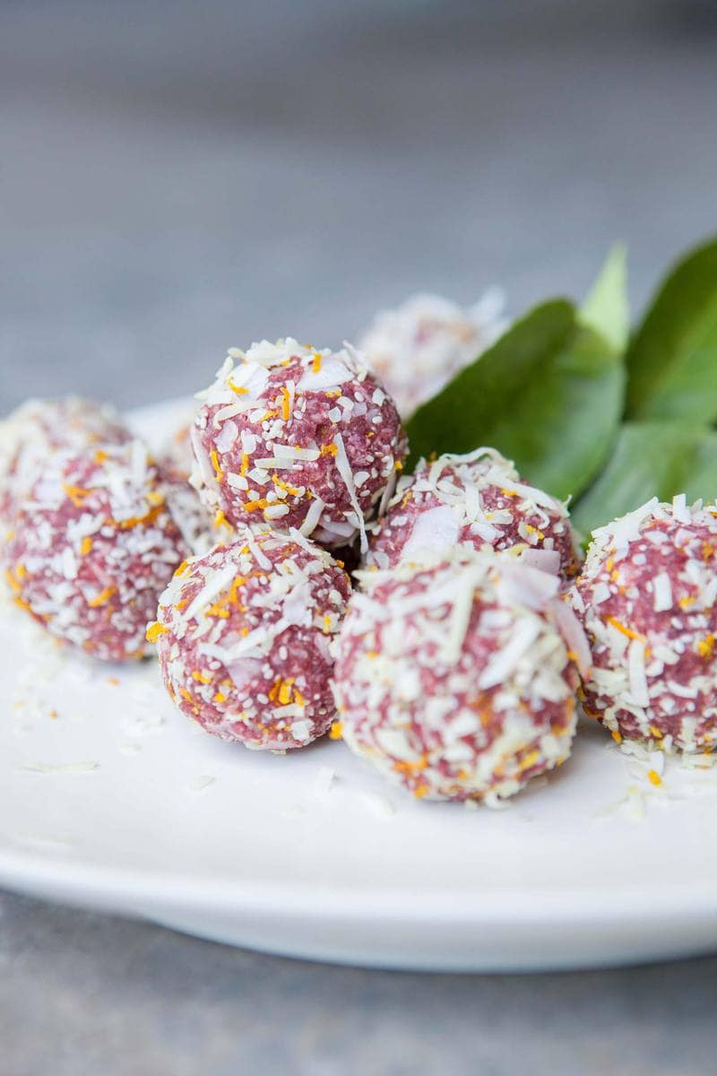 Aphrodisiac Bliss Balls for Valentine's Day