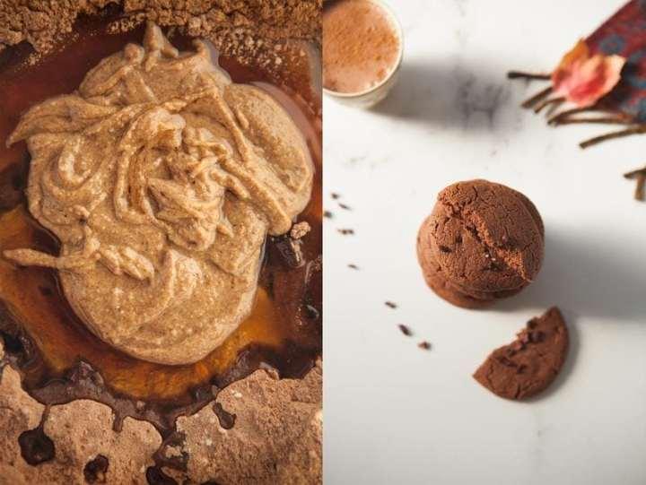 Mexican Hot Chocolate Cookies {Gluten free, Vegan, Refined Sugar Free}
