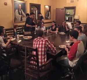 Canterbury Club Dinnerfall2015