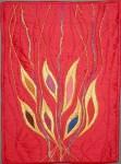 Pentecost Banner by Gerrie Congdon, Portland, OR