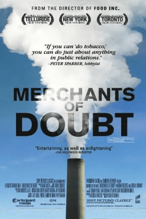 Merchants of Doubt film poster