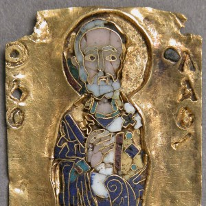Medallion of St. Nicholas, ca. 11th century