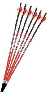 Carbon Express Maxima RED Fletched Carbon Arrows2-300