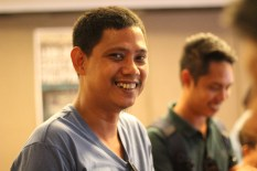 A respresentative from the Eastern Visayas Rural Assistance Program
