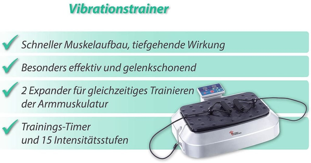 Newgen Medicals Vibrations-Trainingsgerät