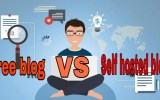 Free blog vs self hosted blog