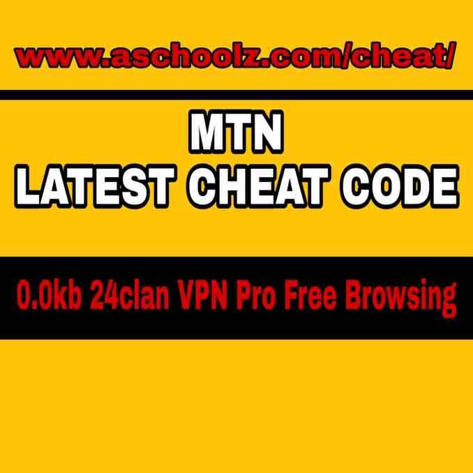 MTN Latest Cheat Code 0Kb (MTN Latest free browsing cheat)