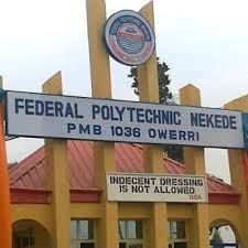 Federal Poly Nekede Acceptance Fee & Payment Procedure for 2019/2020 [HND & ND]