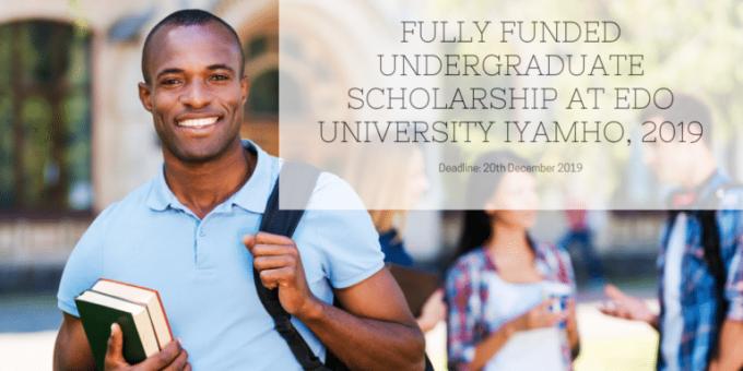 Fully Funded Undergraduate Scholarship at Edo University Iyamho