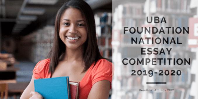UBA Foundation National Essay Competition