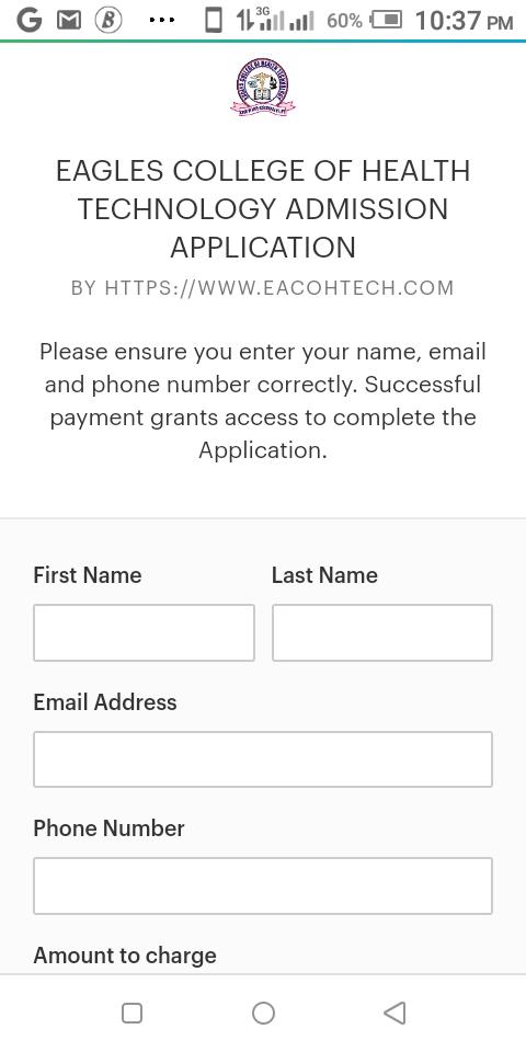 Payment EACOHTECH