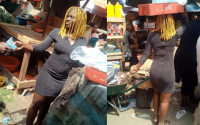 "[Paris Diamond] I prefer doing this than sleeping with men for money""- 19-year-old Mass Commuication student who hawks satchet water in Owerri says (photos) 2"