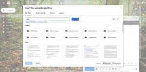 How to send a video through Gmail using Google Drive