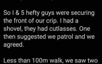 Man narrates his hilarious experience while guarding his street from robbers amid lockdown 6