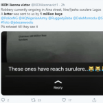 """Fear grips Surulere residents as robbery gang """"1 Million boys"""" sends letter to inform them that they are coming to their neighbourhood 5"""