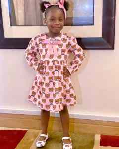 """""""Imade Day"""" – Davido Celebrates His First Daughter, Imade On Her 5th Birthday (Photos)"""