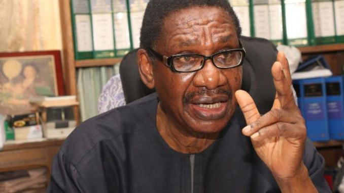Lockdown Nigeria for two months – Sagay tells Buhari